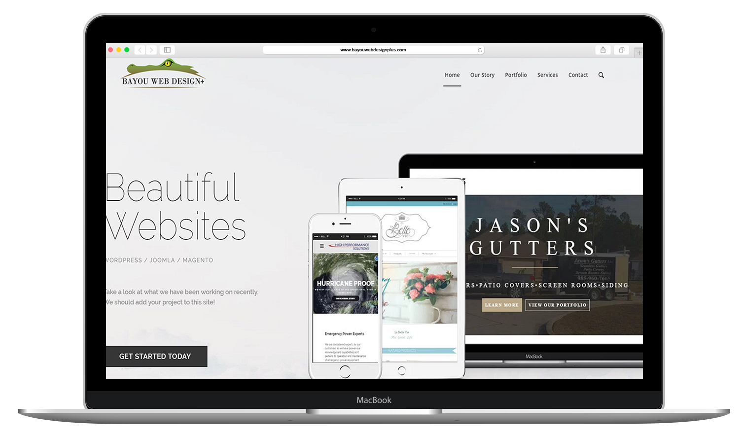 Bayou Web Design
