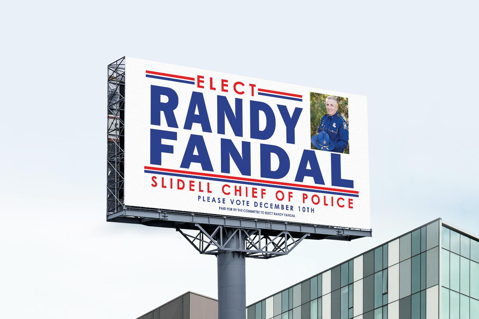 Billboard Design for Political Campaign