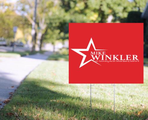 Michael Winkler for St. Tammany Parish School Board Political Campaign Logo