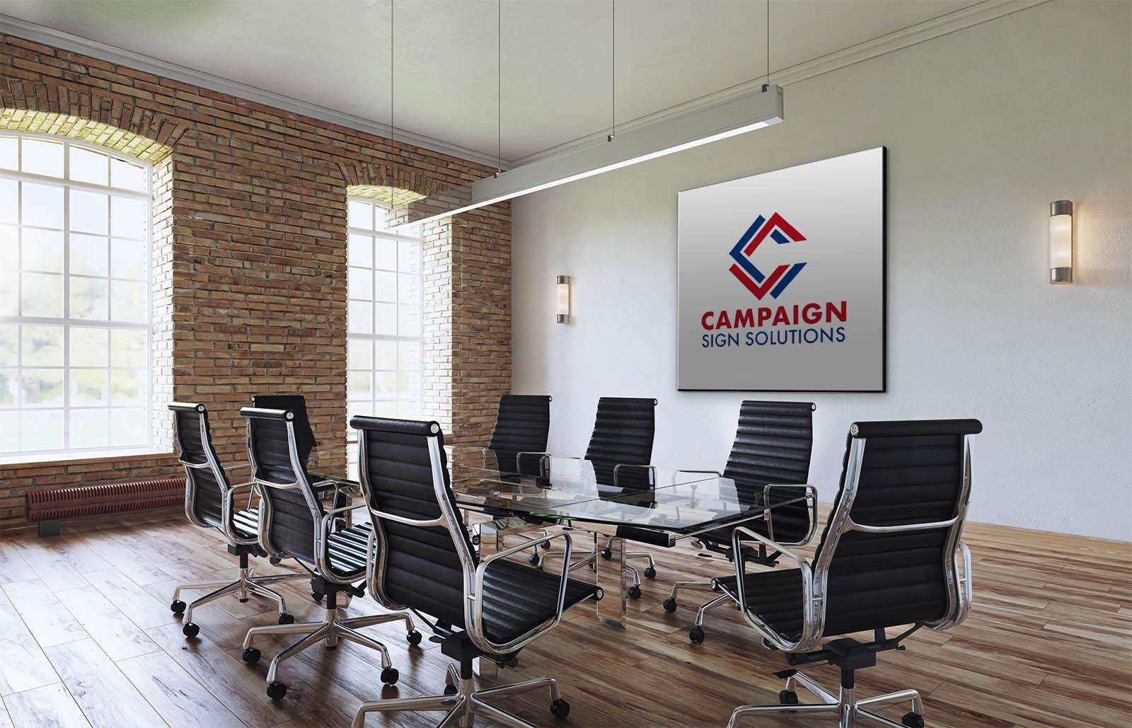 Campaign Sign Solutions Logo Design