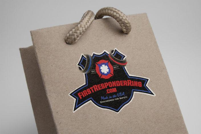 Logo Design First Responder Rings