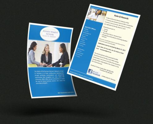 Flyer Design - Business Women's Network Scholarship