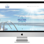 High Tide Pools and Supplies Web Design