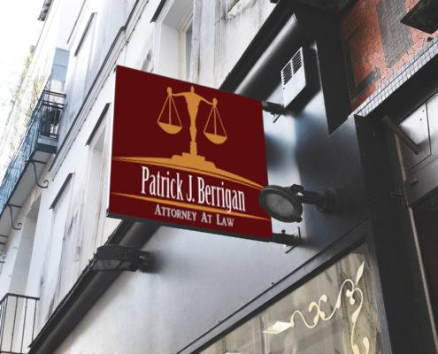 Logo Design Patrick Berrigan