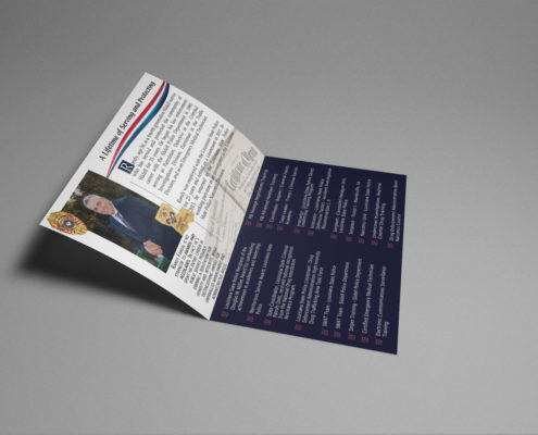 Political Mail Out Design