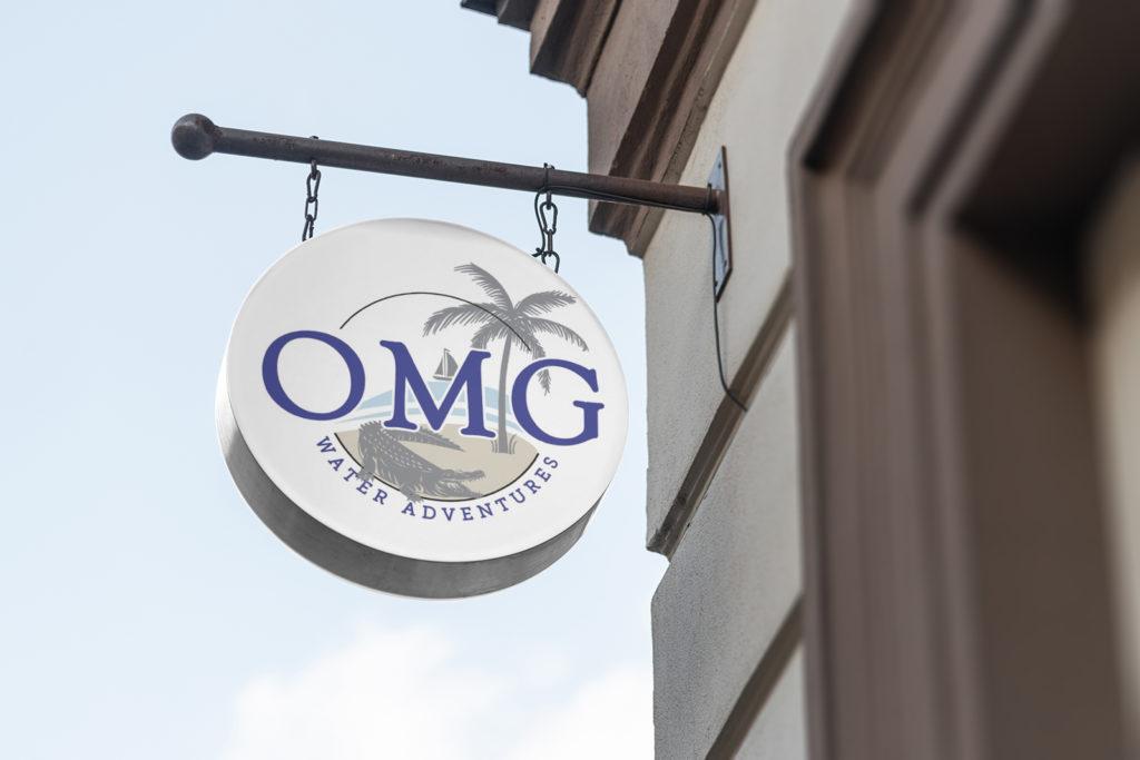 OMG Water Adventures Logo