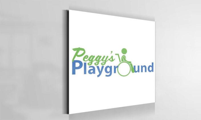 Peggy's Playground Logo Design