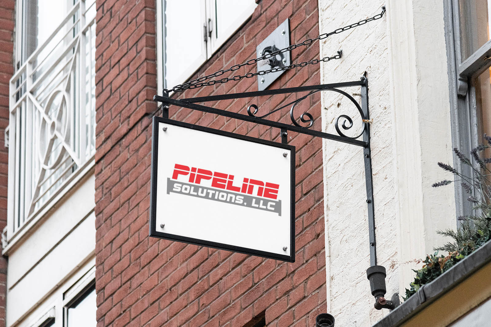 Pipeline Solutions Logo Design