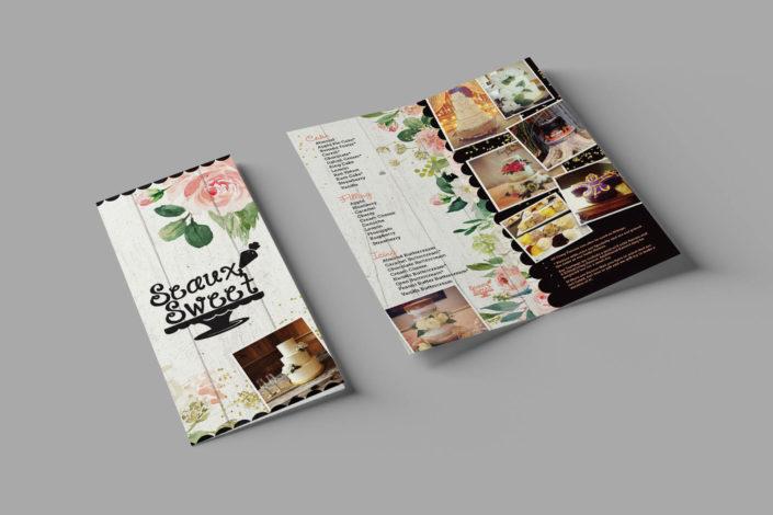 Seaux Sweet Brochure Design