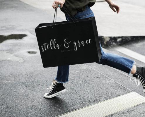 Stella and Grace Logo Design