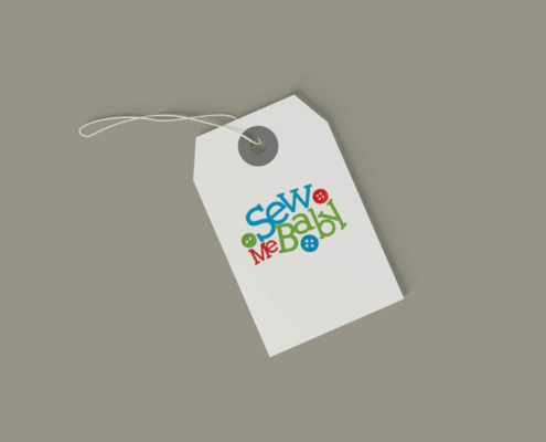 Sew Me Baby Logo Design