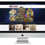 Old Patriot MIilitaria Auction Web Design and eCommerce Web Design