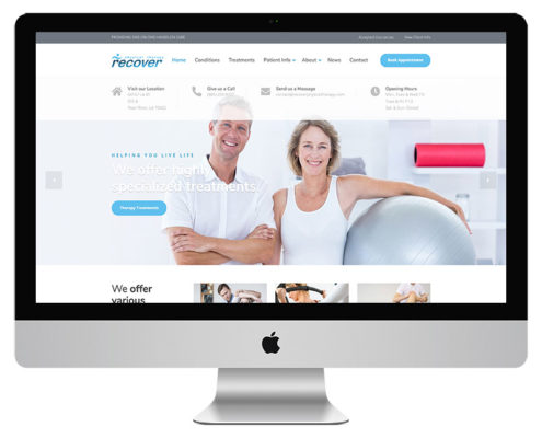 Physical Therapy Clinic Website