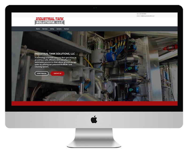 Industrial Tank Solutions Website